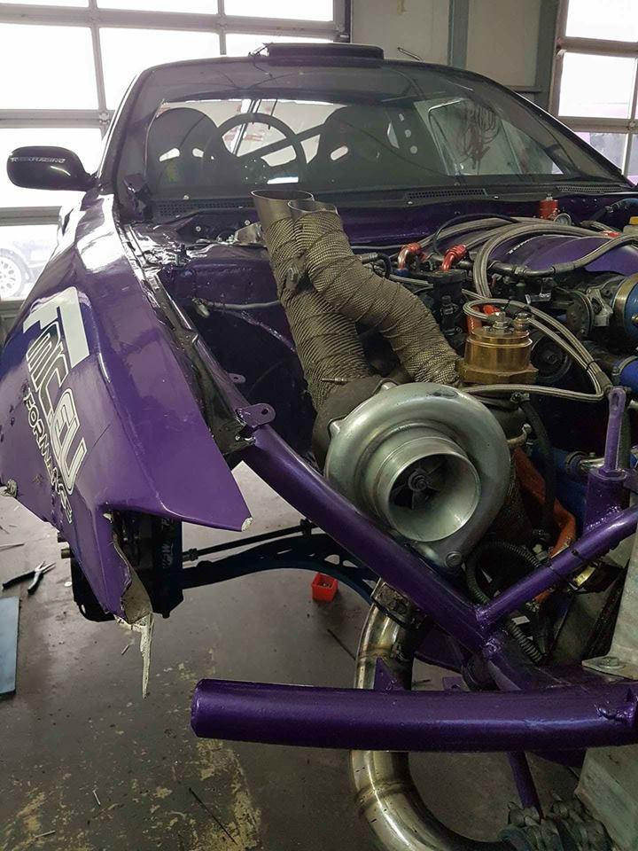 fiołek-drifting-bartosz-stolarski-tuning-hamownia-1 Zobaczcie przygotowania naszego fiołka do Drift Masters Grand Prix!